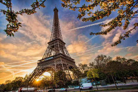 Crystal Travel - Four night Paris and Disneyland break with flights and train transfer or include park tickets - Save 46%
