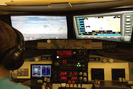 Fly Air Aviation Academy - One hour flight simulation experience - Save 61%