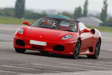 Experience Limits - Three lap Ferrari driving experience - Save 74%