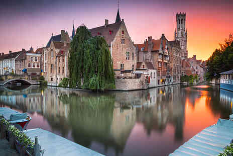 Abbey Tours UK - Romantic day trip to Bruges with coach transfer - Save 62%