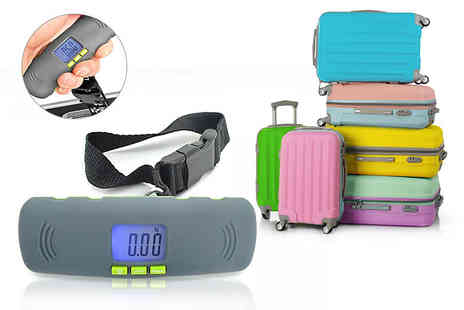 Bright Associate Doctor - Portable digital luggage scale with an LCD display - Save 80%