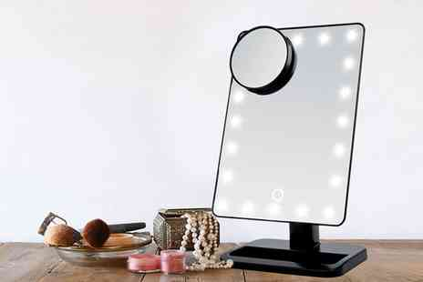 Groupon Goods Global GmbH - Touch Screen Led Make Up Mirror - Save 67%