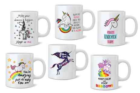 Groupon Goods Global GmbH - Unicorn Mugs Choose from 10 Designs - Save 50%