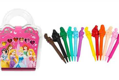 Groupon Goods Global GmbH - Princess 12 Pack Character Shaped Crayons - Save 0%