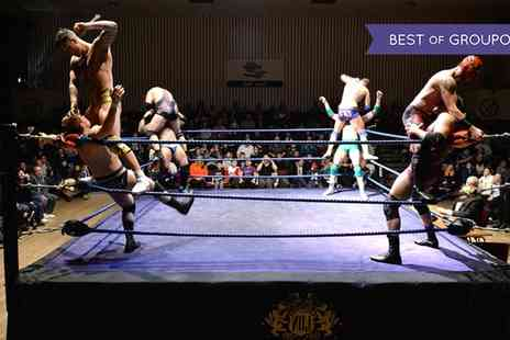 LDN Wrestling - General admission tickets for one, two or a family of four on 21 and 27 January - Save 27%