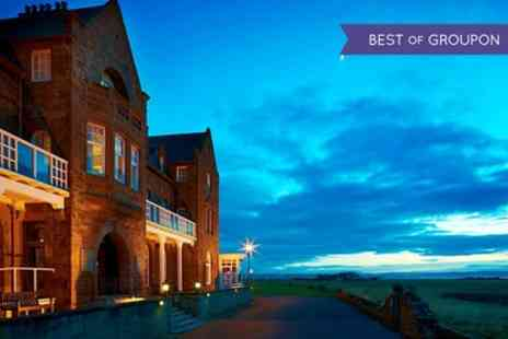 The Marine Hotel - One or Two Nights for Two with Breakfast, Dinner and Leisure Club Access - Save 0%