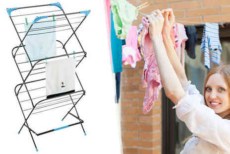 Ayinde Trading Solutions - Three Tier Clothes Airer - Save 70%