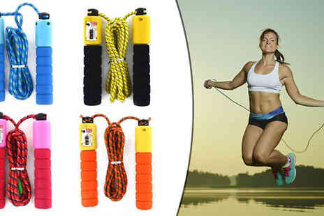 Barrots - Adjustable Skipping Rope in 4 Colours - Save 0%