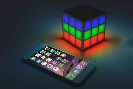 Groupon Goods Global GmbH - Rubiks SoundCube LED Bluetooth Speaker - Save 100%