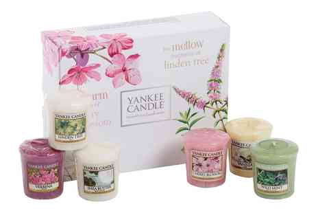 Groupon Goods Global GmbH - One or Two Yankee Candle Pure Essence Six Piece Votive Gift Sets - Save 38%