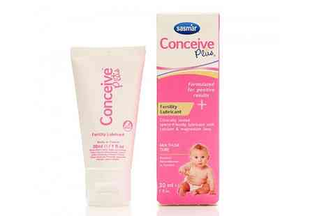 Groupon Goods Global GmbH - Conceive Plus Tube Fertility Lubricant Transparent 30ml - Save 10%