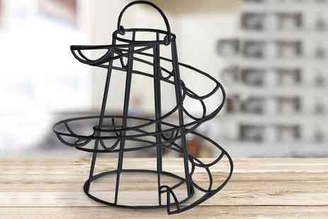 Groupon Goods Global GmbH - Spiral Egg Holder Kitchen Stand - Save 80%