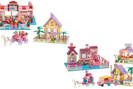 Groupon Goods Global GmbH - Construction Blocks Town Sets With Free Delivery - Save 71%