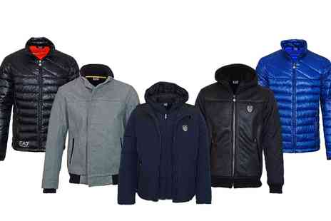 Groupon Goods Global GmbH - Emporio Armani Mens Jacket With Free Delivery - Save 0%