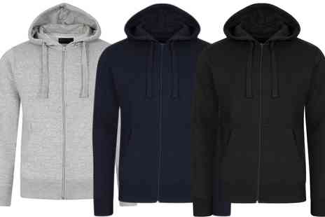 Groupon Goods Global GmbH - Mens Dissident Dignum Zip Up Hoodie - Save 0%