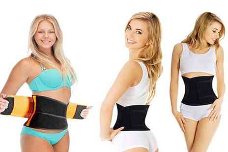 Groupon Goods Global GmbH - Womens Shaping Double Compression Waist Belt - Save 65%