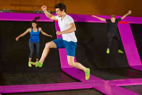 Jump 2 It Deeside - One Hour Bounce Session with Grip Socks and Drink - Save 33%