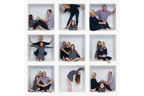 IceTea Photog - Fun Box Family Photoshoot with Two Prints - Save 60%