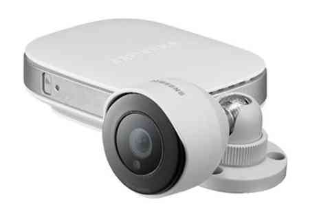 Groupon Goods Global GmbH - Samsung SmartCam SNH-P6440 Home Security Camera With Free Delivery - Save 34%