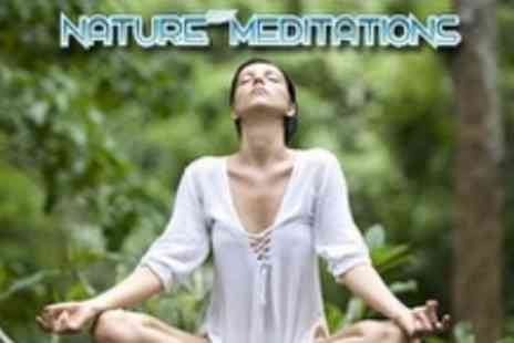 Nature Meditations - Four Week Meditation Course plus Weekly Top Tips - Save 63%