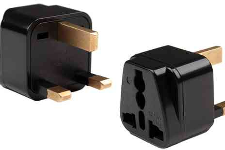Groupon Goods Global GmbH - EU, UK Travel Adapter - Save 0%