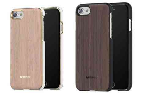 Groupon Goods Global GmbH - Mozo Wood Back Cover Case for iPhone 7, 6s, 6 Plus With Free Delivery - Save 31%