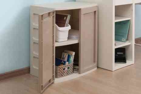 Groupon Goods Global GmbH - Starplast Heavy Duty Utility Cabinet With Free Delivery - Save 0%