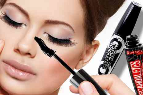 Groupon Goods Global GmbH - One or Two Rimmel Scandaleyes Mascara Bundles - Save 58%