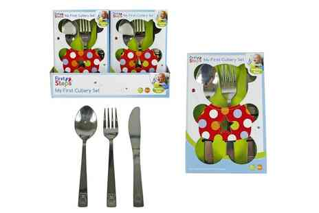 Groupon Goods Global GmbH - Childrens My First Cutlery Set - Save 57%