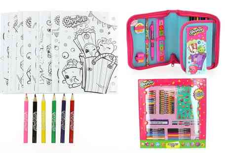 Groupon Goods Global GmbH - Shopkins Stationery Set - Save 0%