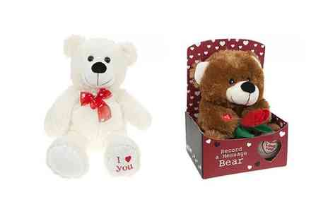 Groupon Goods Global GmbH - 9 Inch or 18 Inch Teddy Bear - Save 56%