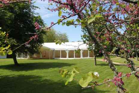 The Walled Garden Moreton - Wedding Package with Garden Hire, Sparkling Wine and Canapes for 120 Guests - Save 49%