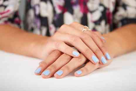 Broughton Place Hair & Beauty - Shellac Manicure with a Choice of Colours - Save 53%