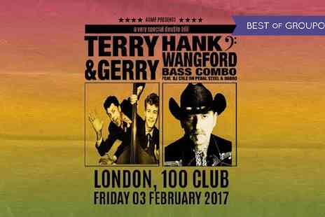 AGMP - Terry & Gerry with Hank Wangford Ticket on 3 February - Save 20%