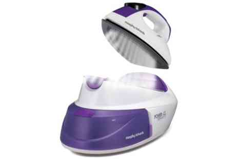 Groupon Goods Global GmbH - Morphy Richards 333000 Intellitemp Steam Generator Iron With Free Delivery - Save 67%