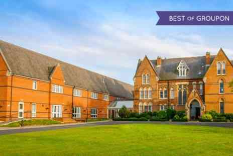 Ettington Chase - One or Two Nights Stay for Two with Breakfast, Dinner, Wine and Leisure Access - Save 0%