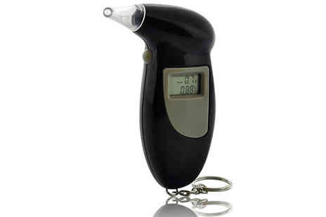 Snap One Up - Portable Digital Alcohol Level Breathalyser - Save 80%