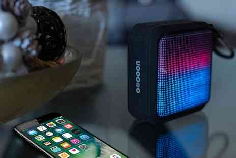 Groupon Goods Global GmbH - One or Two Cocoon Qaser Bluetooth Speakers - Save 40%