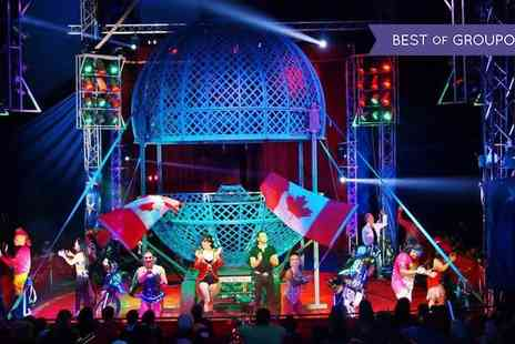 Planet Circus - Tickets to Planet Circus Until 26 February - Save 0%