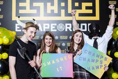 The Escape Room Stoke - Escape Room Game for Up to Six - Save 46%
