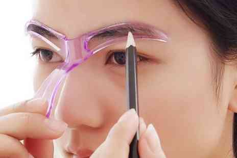 Groupon Goods Global GmbH - Eyebrow Stencil Tool - Save 63%
