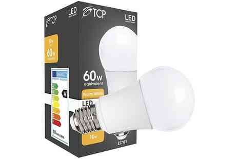 Groupon Goods Global GmbH - Three or Six Pack of TCP 10W E27 LED Bulbs - Save 0%