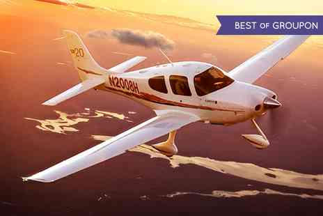Adventure 001 - A 30 minutes Flying Lessons and 30 minutes observing in the rear for One or Two - Save 46%