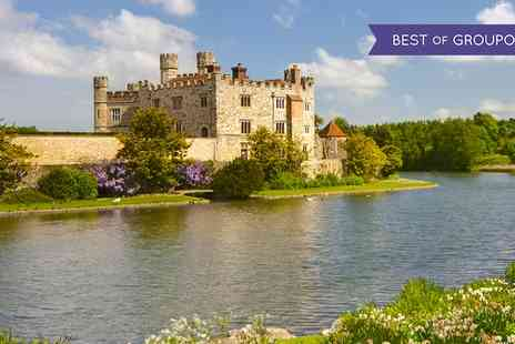 Premium Tours - Tickets to Leeds Castle, Cliffs of Dover and Canterbury Tour with Thames Cruise for Child or Adult - Save 52%