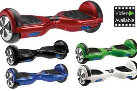 Groupon Goods Global GmbH - AeroBoard Certified Hoverboard in a Choice of Colour with Free Carry Bag With Free Delivery - Save 54%