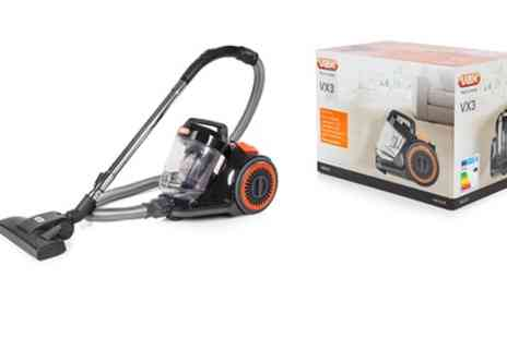 Groupon Goods Global GmbH - VAX VX3 VRS203 Cyclonic Vacuum With Free Delivery - Save 64%