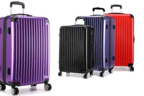 Groupon Goods Global GmbH - One or Three Kono Hard Shell Suitcases With Free Delivery - Save 54%
