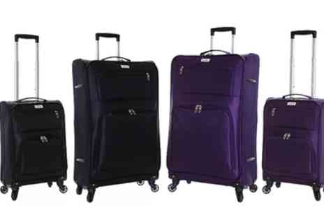 Groupon Goods Global GmbH - One or Two Karabar Lecce Lightweight Suitcases With Free Delivery - Save 0%