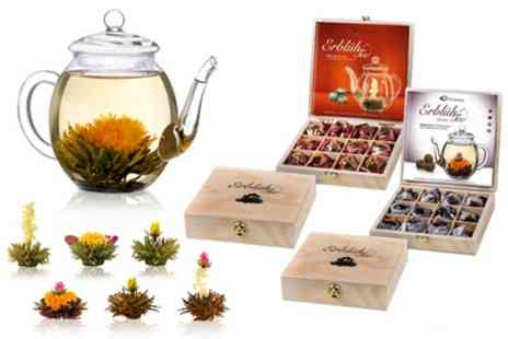 Groupon Goods Global GmbH - Choice of Six Flowering Abloom Tea Gift Sets - Save 41%