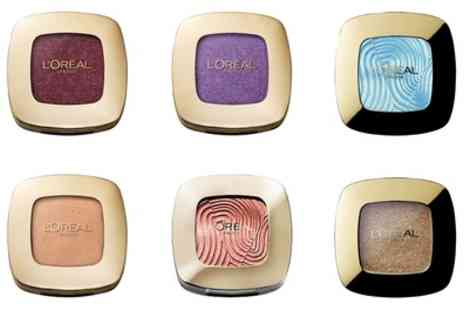 Groupon Goods Global GmbH - Six LOreal Color Riche Mono Eyeshadows - Save 76%
